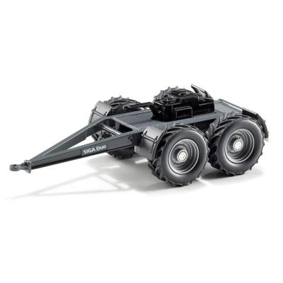 Siku 2887 SIGA Duo Twin Axle Dolly - Sclae 1:32