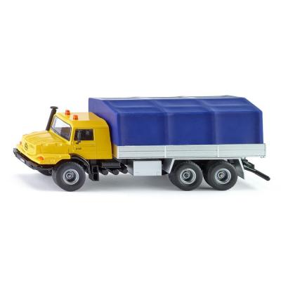 Siku 3547 - Mercedes-Benz Zetros with platform and canvas cover - Scale 1:50