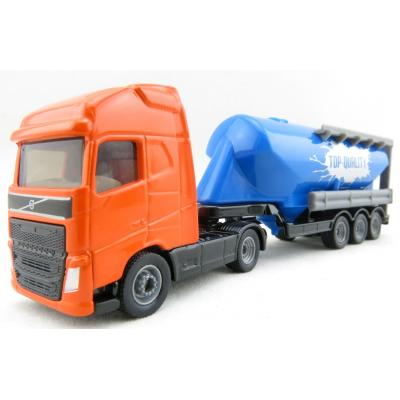 Siku 1792 - Volvo FH16 Truck with Silo Semi Trailer - Scale 1:87 - New Item 2017