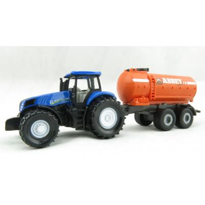Siku 1642 - New Holland T8 390 Tractor with Abbey Vacuum Tanker Trailer Ireland Edition - Scale 1:72