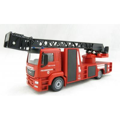Siku 2114 - MAN TGS Fire Engine Aerial Ladder Unit - Scale 1:50