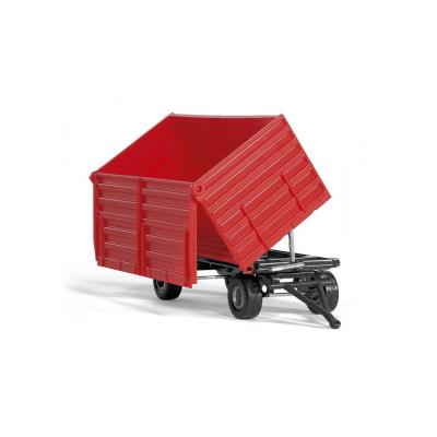 Siku 2898 Double Axle Trailer Red Scale 1:32