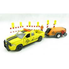 Siku 3505 - Dodge RAM 1500 with Compressor Trailer and Accessories - Scale 1:50