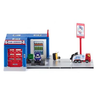 Siku 5507 - Siku World Car Service Station Garage