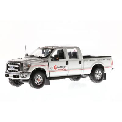 Sword - Ford F-250 Crew Cab Pickup Manitowoc Crane Care Service Truck - Scale 1:50