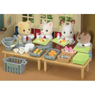 Sylvanian Families 5108 School Lunch Set