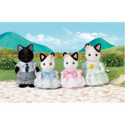 Sylvanian Families 5181 - Tuxedo Cat Family