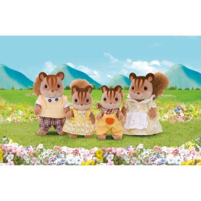 Sylvanian Families 4172 - Walnut Squirrel Family