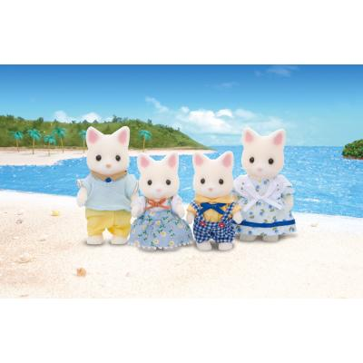 Sylvanian Families 4175 - Silk Cat Family