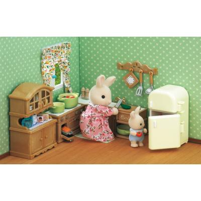 Sylvanian Families 5222 Kitchen Stove, Sink and Counter Set