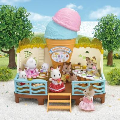 Sylvanian Families 5228 - Seaside Ice Cream Shop
