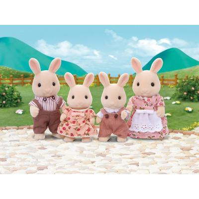 Sylvanian Families 4108 - Milk Rabbit Family
