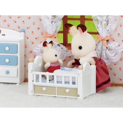 Sylvanian Families 5017 - Chocolate Rabbit Baby Set