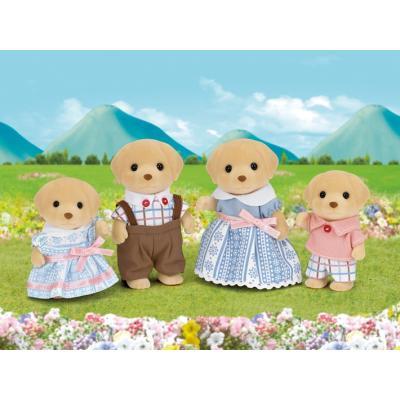 Sylvanian Families 5182 - Yellow Labrador Family