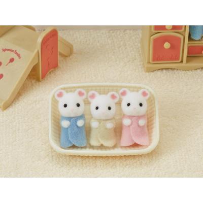Sylvanian Families 5337 - Marshmallow Mouse Triplets
