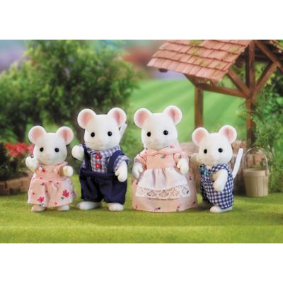 Sylvanian Families 4121 - White Mouse Family