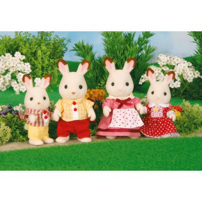 Sylvanian Families 4150 - Chocolate Rabbit Familiy