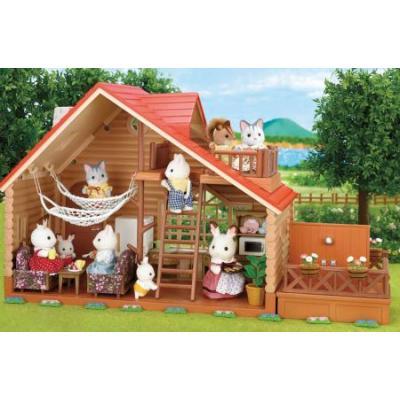 Sylvanian Families 4370 - Log Cabin