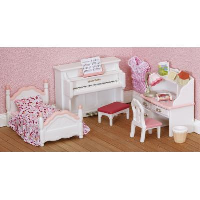 Sylvanian Families 4529 - Girl's Bedroom Set
