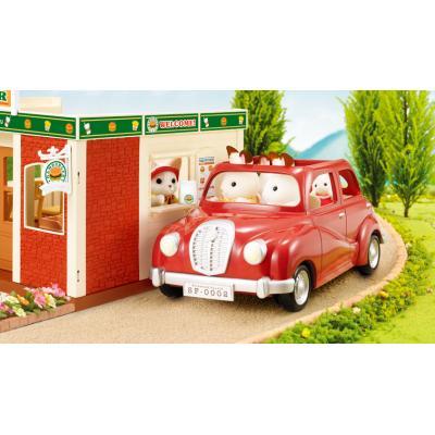 Sylvanian Families 4611 - Family Saloon Car -  Red