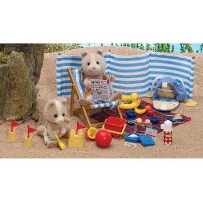 Sylvanian Families 4870 - Day at the Seaside Set