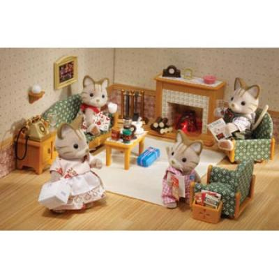 Sylvanian Families 5037 - Deluxe Living Room Set