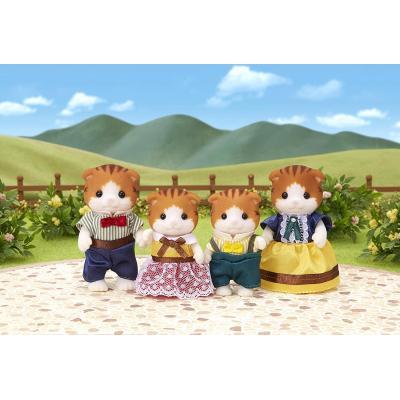 Sylvanian Families 5290 - Maple Cat Family