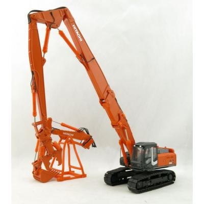 SHINSEI - Hitachi 350 LC K Excavator with High Reach Demolition Crusher and 2nd Boom with Bucket 1:50