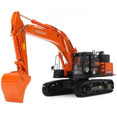 TMC Models Large Hitachi ZX490LCH-6 Tracked Hydraulic Excavator Diecast 1:50