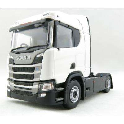 Tekno 70940 Next generation Scania R-serie sleeper cab 4x2 Prime Mover White - Right Hand Drive - Scale 1:50
