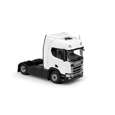 Tekno 70941 Next generation Scania R-serie Highline sleeper cab 4x2 Prime Mover White - Right Hand Drive - Scale 1:50