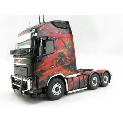 Tekno 71289 Volvo Globetrotter XL 6 x 4 Prime Mover K S EASTER Pegasus Show Truck - Scale 1:50
