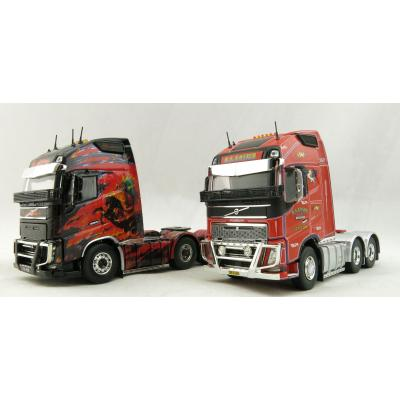 Tekno 71291 Volvo Globetrotter XL 6 x 4 Prime Mover K S EASTER Twin Truck Set - Scale 1:50