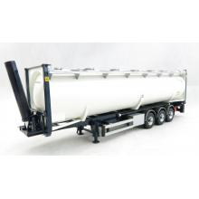 Tekno 71416 - LAG 40ft Silo Tipping Container Chassis Trailer 3 axle - Scale 1:50