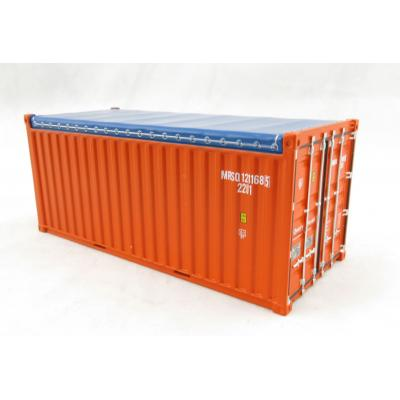 Tekno 74057 20ft Open Top Rental Container - MRSQ Range - Scale 1:50