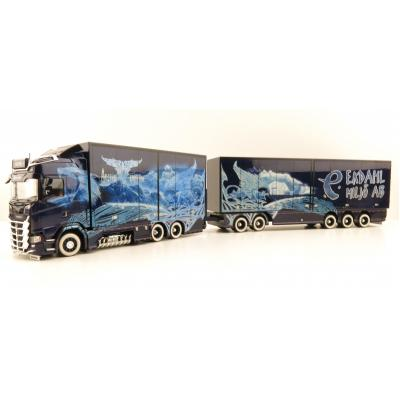 Tekno 74255 Scania NGS S HL Sweden Combo Showtruck - Ekdahl Arctic Griffin - Scale 1:50