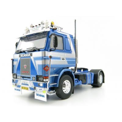 Tekno 75406 Scania 142M 4x2 Prime Mover - L van der Graf  - Truckstars Series - Scale 1:50