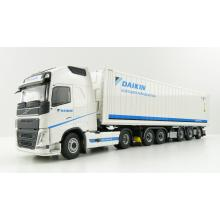 Tekno 76582 Volvo FH04 Globetrotter XL Reefer 5-axle Container Daikin - Scale 1:50
