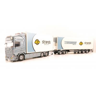 Tekno 80918 Scania R-serie HL Truck Sweden Combo - Oscarssons Akeri - Scale 1:50