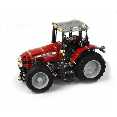 Tronico 10080 Metal Building Kit Massey Ferguson MF 8690 Tractor  Professional Model - 1024 pieces Scale 1:16