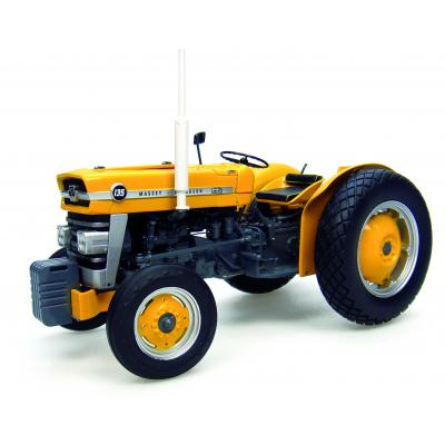 Universal Hobbies UH2822 Massey Ferguson 135 Industrial Tractor Yellow Limited Edition Scale 1:16