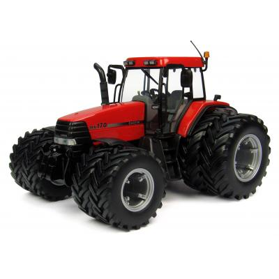 Universal Hobbies UH4223 Case IH Maxxum MX170 Tractor Dual Wheels Scale 1:32