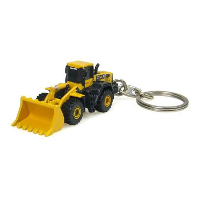 Universal Hobbies UH5526 Komatsu WA 470 Four Wheel Loader Diecast Keyring