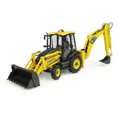 Universal Hobbies UH8142 Komatsu WB93R-8 Backhoe Loader Scale 1:50