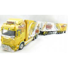 WSI 01-1025 Scania R-Streamline Highline Ristimaa Wasp Sweden Combo Showtruck - Scale 1:50