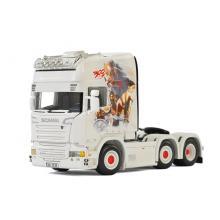 WSI 01-2102 Scania R730 Streamline Topline 6x2 Prime Mover - TiDe Spedition 300 Movie - Scale 1:50