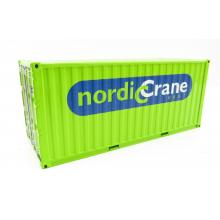 WSI 01-3158 20ft Container Nordic Crane with Lifting Kit - Scale 1:50