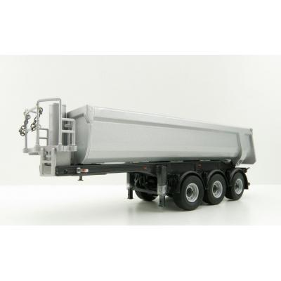 WSI 03-2000 - Langendorf Halfpipe 3 axle Tipper Trailer - Scale 1:50