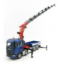 WSI 04-2053 Scania S Normal CS20N 10x4 Truck with Palfinger1500.2 Crane + JIB Crane & Ballast Box - Scale 1:50