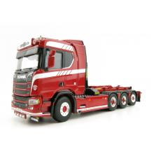 WSI 04-2090 Scania R Normal CR20N 8x2 Truck with Hooklift System - Scale 1:50